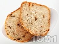 Домашен селски хляб с мляко за хлебопекарна
